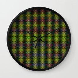 Beaded Ranks, 2120f Wall Clock