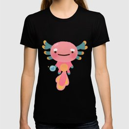 Umpearl - Axolotl with magic pearl T-shirt