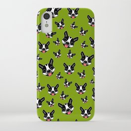 Milo The Boston Terrier #2 iPhone Case