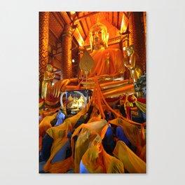 Wat Phanan Choeng (Thailand) Canvas Print