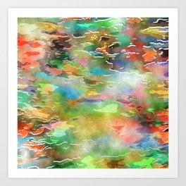 Watercolor Wash Art Print
