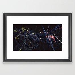Three Million Bytes Framed Art Print