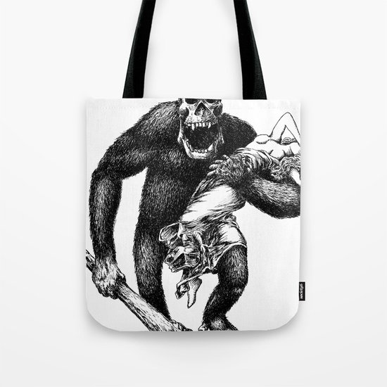 Mad Brute Tote Bag