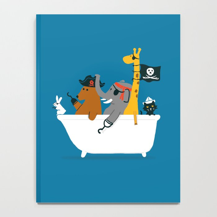 Everybody wants to be the pirate Notebook