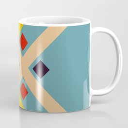 Retro Native Style Stripes Art Mogon Coffee Mug