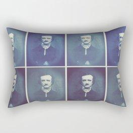 Edgar Allan Poe Horrible Sanity Rectangular Pillow
