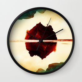 Isolation Island Wall Clock
