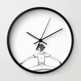 T.A : Split Wall Clock
