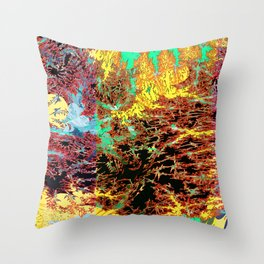 deep jungle II Throw Pillow