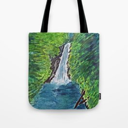 Waterfall Grenada Tote Bag