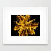 big bang Framed Art Prints featuring Big Bang by Art-Motiva