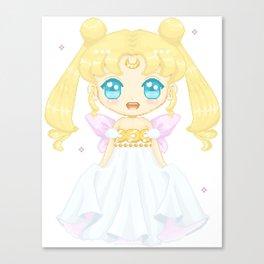Serenity Pixel Doll Canvas Print