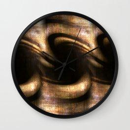 Golden Origin Wall Clock