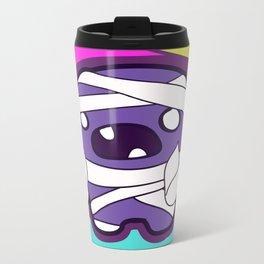 Neon Mummy Metal Travel Mug
