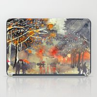 takmaj iPad Cases featuring WINTER IN THE CITY by takmaj