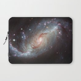 Barred spiral galaxy Laptop Sleeve