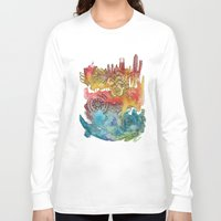 barcelona Long Sleeve T-shirts featuring Barcelona by Geek World