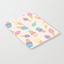 ice cream party Notebook