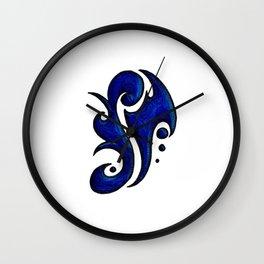 Jameson / جيامسن (blue) Wall Clock