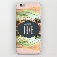 Summer of 1976 iPhone & iPod Skin