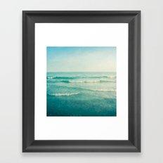 only this moment 2 Framed Art Print