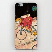 lunar iPhone & iPod Skins featuring Lunar Keirin by Juan Weiss