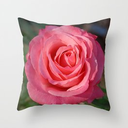 'Cherish' Rose Throw Pillow