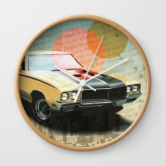 Buick Gran Wall Clock