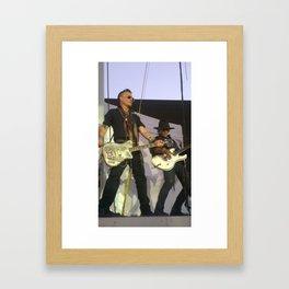 Hollywood Vampires Johnny Depp & Joe Perry Framed Art Print
