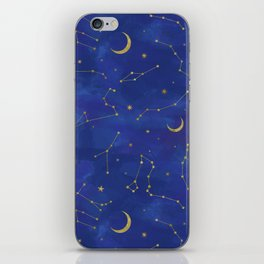 Gold Starlight iPhone Skin