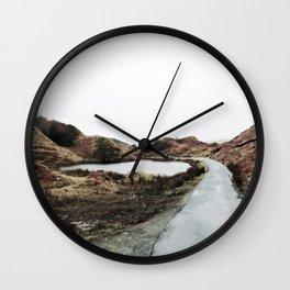 Road through the Glen Wall Clock