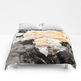 Wake Up And Smell The Roses Comforters