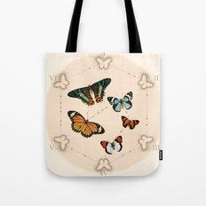 Wings in the Spotlight Tote Bag