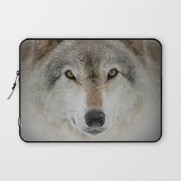 Wolf Portrait Laptop Sleeve