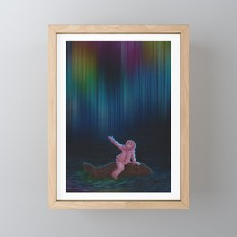 Under the Aurora Australis Framed Mini Art Print