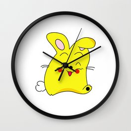 Funny Bun Bun Wall Clock