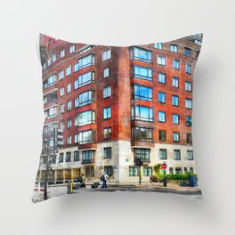 London city art 1 #london #city Throw Pillow