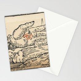 misterio visual 7: ojo del cielo Stationery Cards