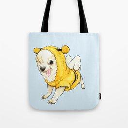 Chihuahua - YOGURT the pirate dog  Tote Bag