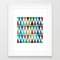 skyfall Framed Art Prints featuring SkyFall by Digi Treats 2