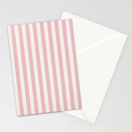 LADY PINK STRIPES Stationery Cards