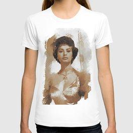 Sophia Loren, Actress T-shirt