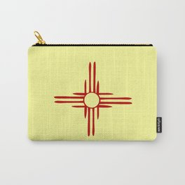 Flag of new mexico hand drawn 1 Carry-All Pouch