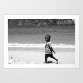 Children of Bali #2 Art Print