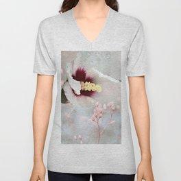 She's A Floral Lady Unisex V-Neck