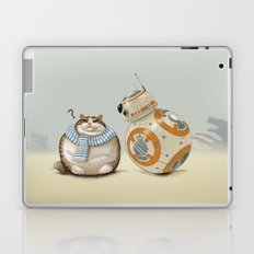 CAT AND DROID Laptop & iPad Skin