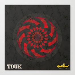TAKEOVER x Gold Soul Mandala Canvas Print