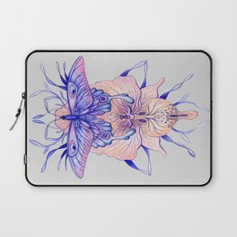 Butterfly Orchid Laptop Sleeve