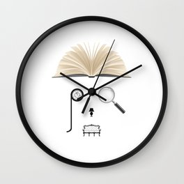 Psychologist | The world inside your head  Wall Clock