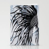 headdress Stationery Cards featuring headdress by Snow & Ink